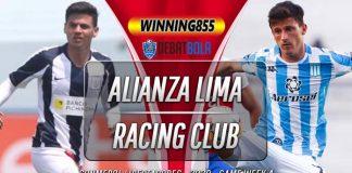 Prediksi Alianza Lima vs Racing Club 24 September 2020