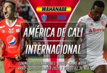Prediksi América de Cali vs Internacional 30 September 2020