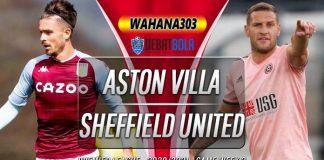Prediksi Aston Villa vs Sheffield United 22 September 2020