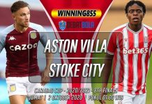Prediksi Aston Villa vs Stoke City 2 Oktober 2020