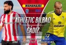 Prediksi Athletic Bilbao vs Cádiz 2 Oktober 2020