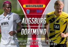 Prediksi Augsburg vs Borussia Dortmund 26 September 2020