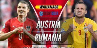 Prediksi Austria vs Rumania 8 September 2020