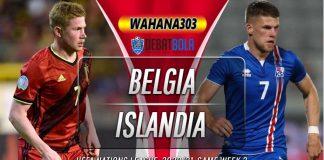 Prediksi Belgia vs Islandia 9 September 2020