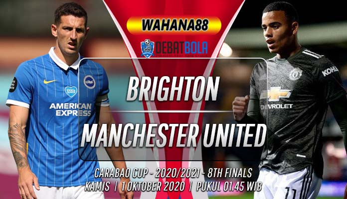Prediksi Brighton vs Manchester United 1 Oktober 2020