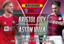 Prediksi Bristol City vs Aston Villa 25 September 2020