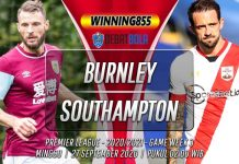 Prediksi Burnley vs Southampton 27 September 2020