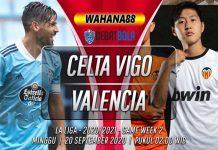 Prediksi Celta Vigo vs Valencia 20 September 2020