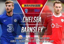 Prediksi Chelsea vs Barnsley 24 September 2020