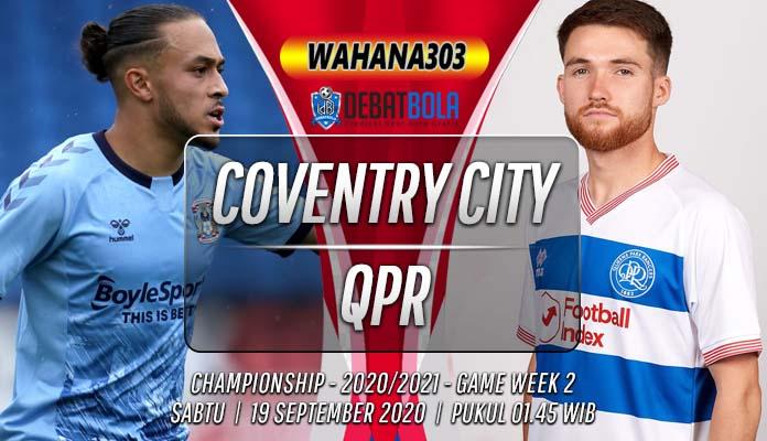 Prediksi Coventry City vs QPR 19 September 2020