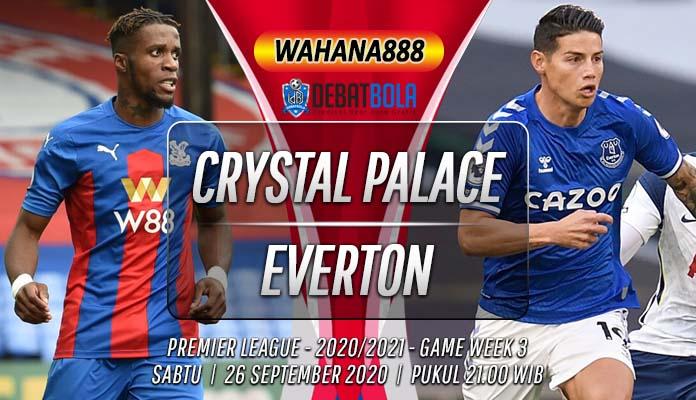 Prediksi Crystal Palace vs Everton 26 September 2020