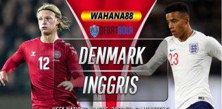 Prediksi Denmark vs Inggris 9 September 2020
