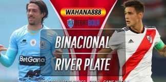 Prediksi Deportivo Binacional vs River Plate 23 September 2020
