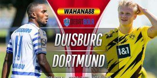 Prediksi Duisburg vs Borussia Dortmund 15 September 2020