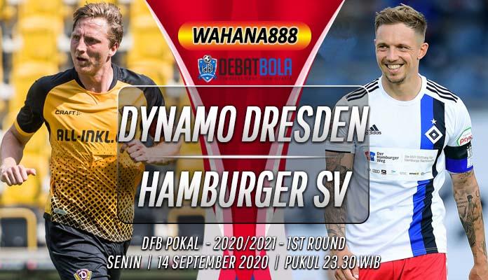 Prediksi Dynamo Dresden vs Hamburger SV 14 September 2020