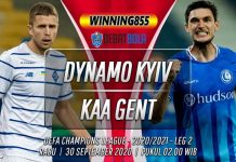 Prediksi Dynamo Kyiv vs KAA Gent 30 September 2020