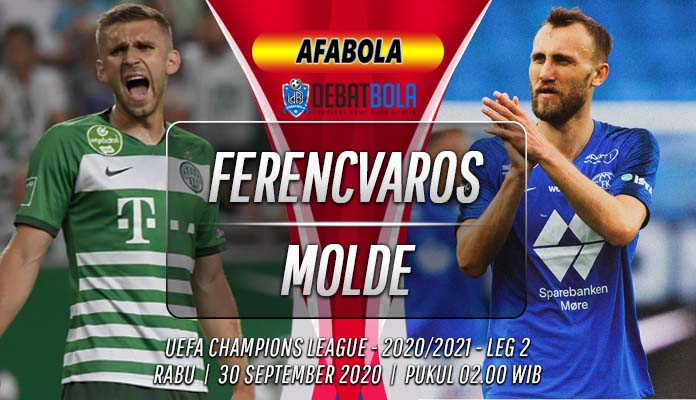 Prediksi Ferencvaros vs Molde 30 September 2020