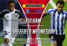 Prediksi Fulham vs Sheffield Wednesday 24 September 2020
