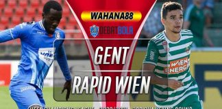 Prediksi Gent vs Rapid Wien 16 September 2020