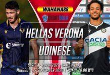 Prediksi Hellas Verona vs Udinese 27 September 2020