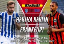 Prediksi Hertha Berlin vs Eintracht Frankfurt 26 September 2020