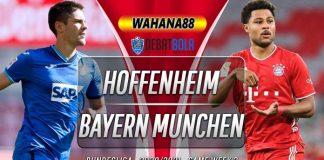 Prediksi Hoffenheim vs Bayern Munchen 27 September 2020