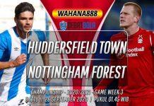 Prediksi Huddersfield Town vs Nottingham Forest 26 September 2020