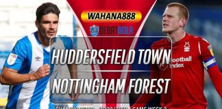 Prediksi Huddersfield Town vs Nottingham Forest 26 September 2020