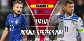 Prediksi Italia vs Bosnia-Herzegovina 5 September 2020