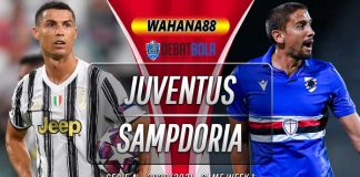 Prediksi Juventus vs Sampdoria 21 September 2020