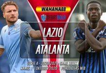 Prediksi Lazio vs Atalanta 1 Oktober 2020