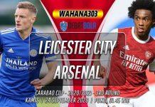 Prediksi Leicester City vs Arsenal 24 September 2020