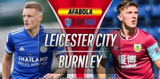 Prediksi Leicester City vs Burnley 21 September 2020