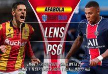 Prediksi Lens vs PSG 11 September 2020