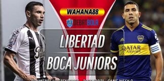 Prediksi Libertad vs Boca Juniors 18 September 2020