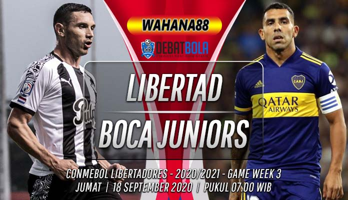 Prediksi Libertad vs Boca Juniors 18 September 2020