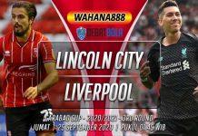 Prediksi Lincoln City vs Liverpool 25 September 2020