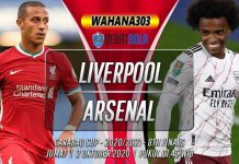 Prediksi Liverpool vs Arsenal 2 Oktober 2020