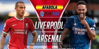Prediksi Liverpool vs Arsenal 29 September 2020