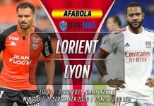 Prediksi Lorient vs Lyon 27 September 2020