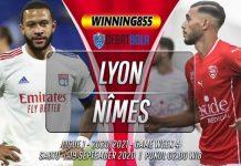 Prediksi Lyon vs Nîmes 19 September 2020