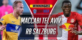 Prediksi Maccabi Tel Aviv vs RB Salzburg 23 September 2020