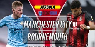 Prediksi Manchester City vs Bournemouth 25 September 2020