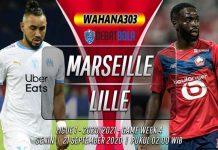 Prediksi Marseille vs Lille 21 September 2020