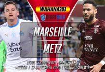 Prediksi Marseille vs Metz 27 September 2020