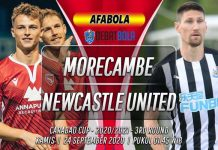 Prediksi Morecambe vs Newcastle United 24 September 2020