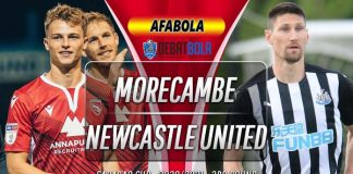 Prediksi Morecambe vs Newcastle United 24 September 2020