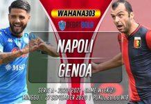 Prediksi Napoli vs Genoa 27 September 2020