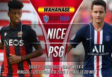 Prediksi Nice vs PSG 20 September 2020