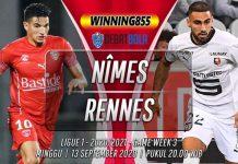 Prediksi Nîmes vs Rennes 13 September 2020